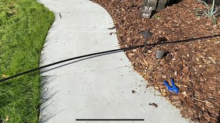How To Run a Pipe Under a Slab or Sidewalk With a Garden Hose