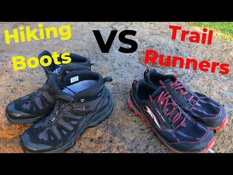 HIKING BOOTS VS TRAIL RUNNERS: Which Shoes Are Best For Hiking?