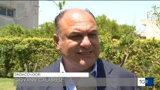 LOCRI: CALABRESE RIELETTO SINDACO (Servzio da TGR Calabria dell' 11 giugno 2018)