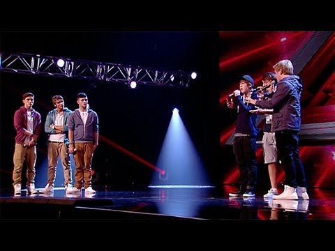 GMD3's and Triple J's sing-off - 3X / Bless The Broken Road - The X Factor UK 2012