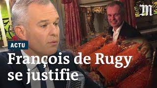 Homards, champagne et appartement: François de Rugy s'explique