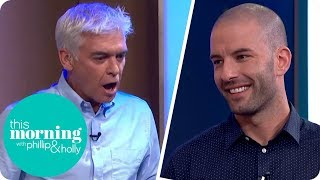 BGT Magician Darcy Oake Shocks Phillip and Holly by Making Two Mice Appear  This Morning
