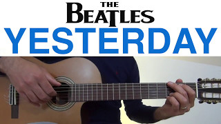 Yesterday The Beatles - Guitar Easy Lesson Tutorial.mp3