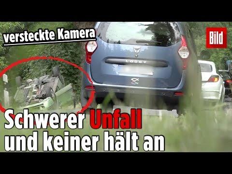 Polizei Testet: Schwerer Unfall Und Keiner Hält An 😧