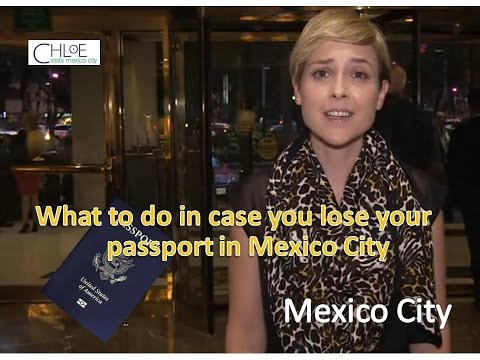 What to do in case you lose your passport in Mexico City