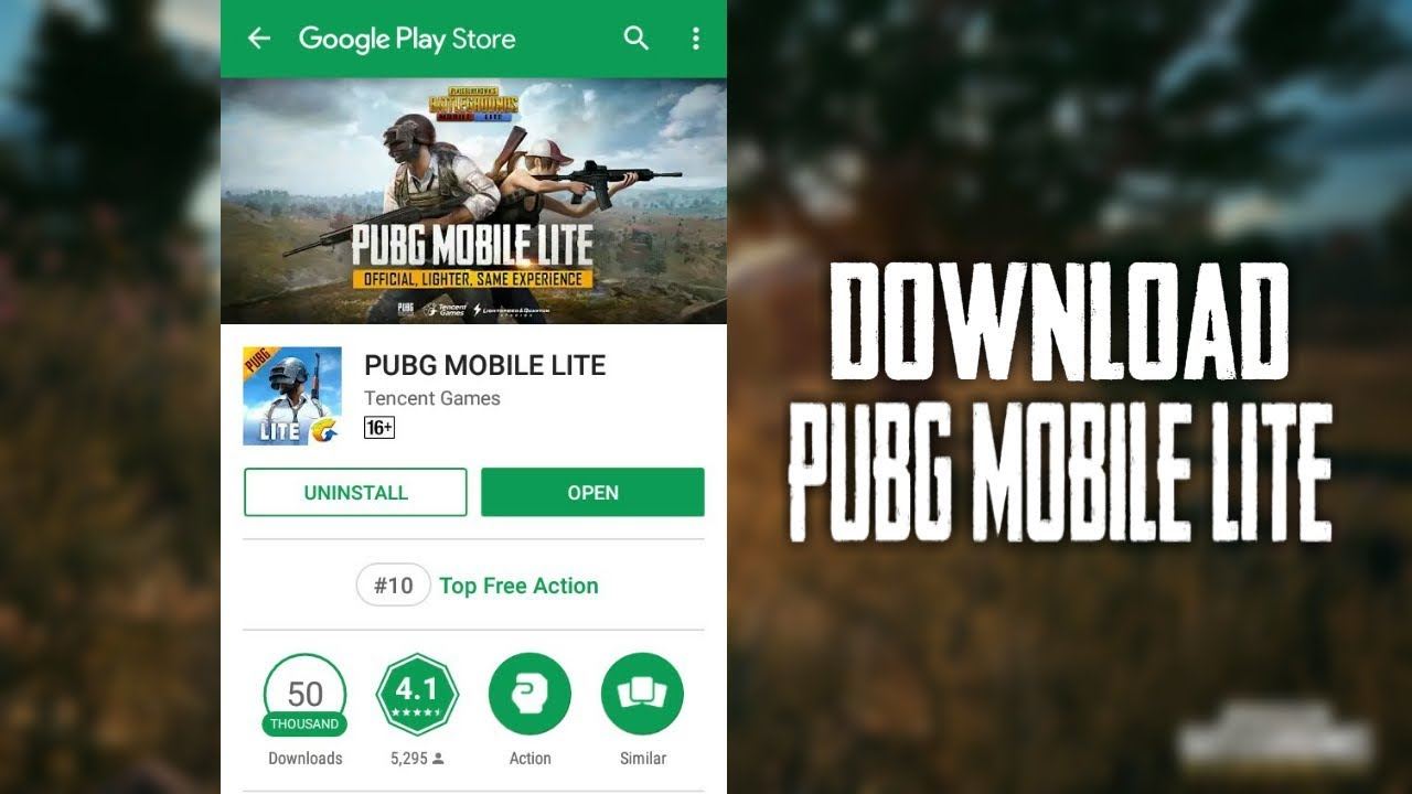 Pubg Lite How To Download Pubg Mobile Lite In India: How To Download PUBG MOBILE LITE From Playstore In Any
