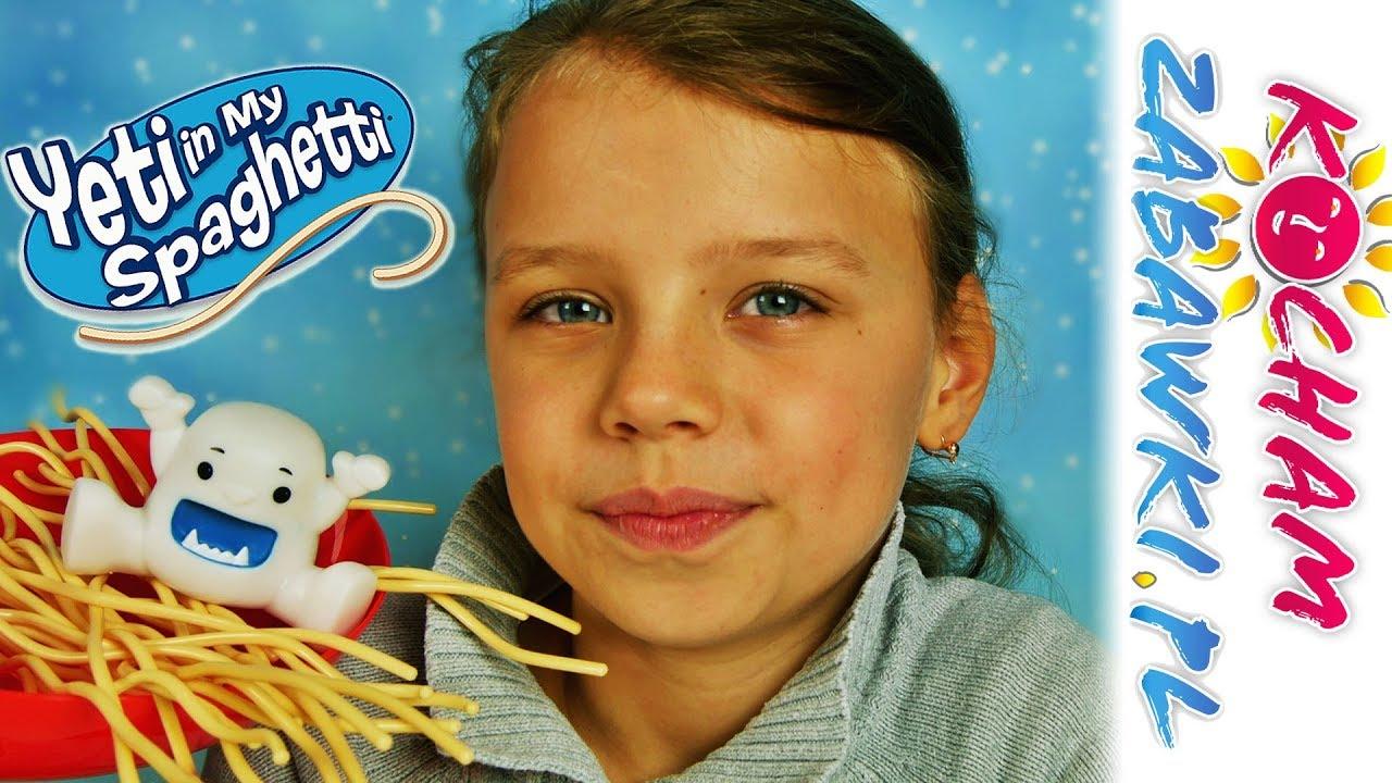 Yeti Spaghetti • Gra zręcznościowa • Challenge z Natalią • TM Toys • Gry dla dzieci