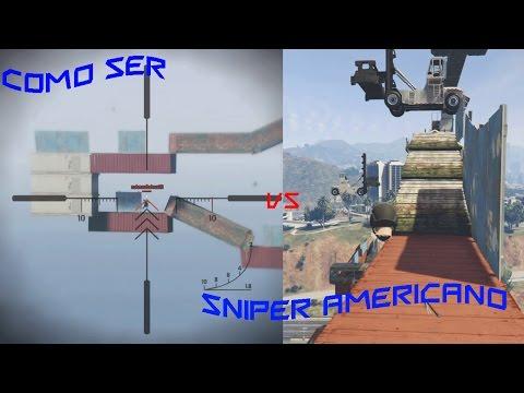 GTA V Online: SNIPER vs RUNNER - Sniper Americano