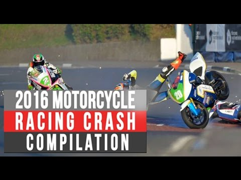 Motorcycle Racing Crash Compilation #1 [Live Commentary No Music]