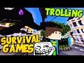 Minecraft Survival Games: TROLLING auf RUNKULUS