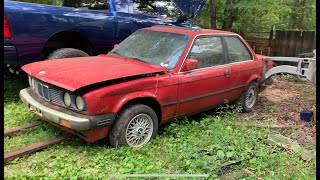 I found an abandoned e30 in the woods, and im gonna turn it into an m3