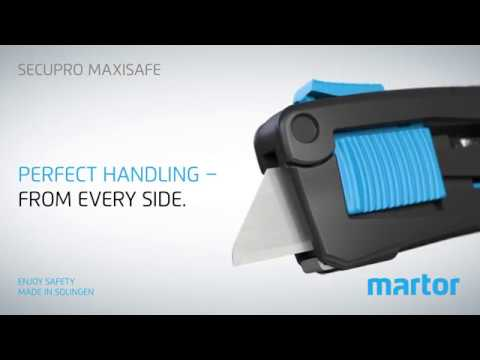 Safety knife MARTOR SECUPRO MAXISAFE new Product Video GB