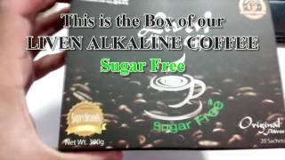 AIM GLOBAL, INC. - Liven Alkaline Coffee (Sugar Free)