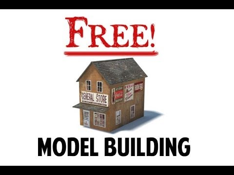 image relating to Ho Scale Buildings Free Printable Plans identified as Absolutely free Fashion Railroad Producing Courses Pattern