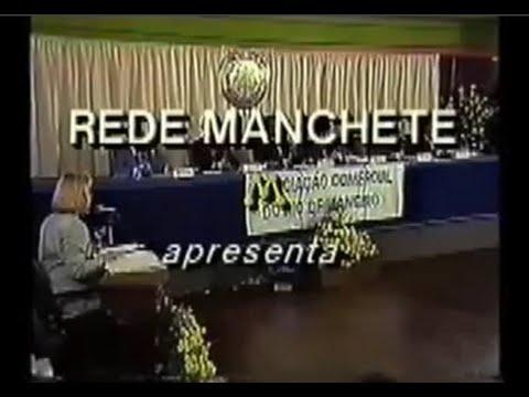 Dr. Enéas Carneiro - Debate Presidencial 1994 - Manchete - Márcia Peltier