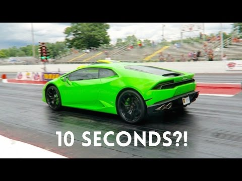 How fast is the lamborghini