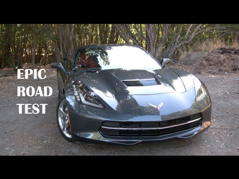 2014 Corvette Stingray 3LT Road Test And Review