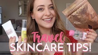 Travel Skincare Faves & Tips | Fleur De Force