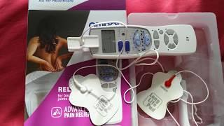 Обзор Массажёр-миостимулятор Omron E4, для лечения позвоночника и суставов, снимает усталость мышц