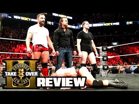 NXT TAKEOVER BROOKLYN 3 REVIEW! (Going In Raw Podcast Ep. 276)