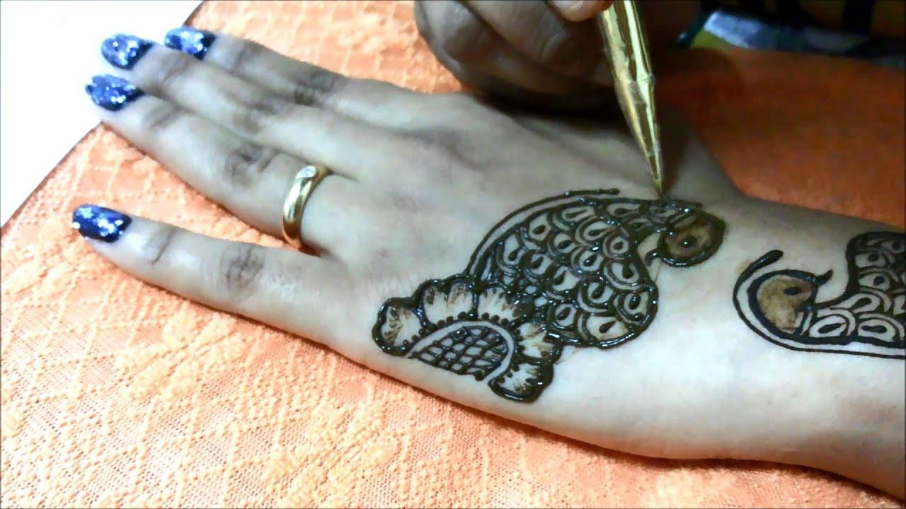 Diwali Henna Designs: Latest Diwali Mehndi Henna Design