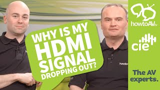 Why is my HDMI signal dropping out?