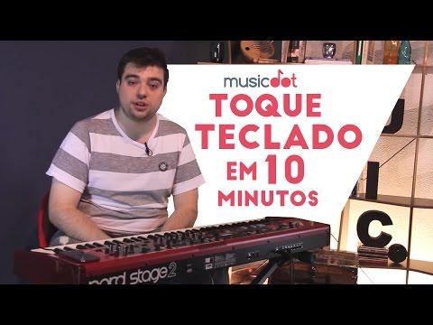 Toque teclado em 10 minutos! (Aula de teclado para iniciantes)
