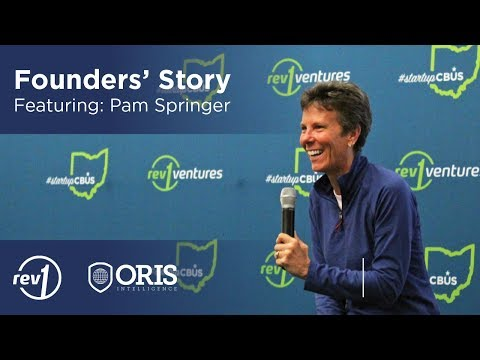 Founders Story Featuring Pam Springer, CEO of ORIS Intelligence