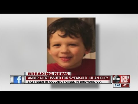 Active AMBER Alert in Florida: Julian Kiley, 5 years old