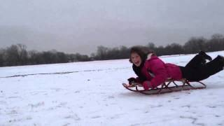 Sledding: Winter 2014