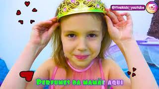 Boo Boo e outras Canção para crianças | Canção Infantil com Five Kids