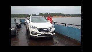 Наши тесты плюс Hyundai SantaFe Premium смотреть