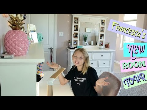 Francesca's NEW ROOM Tour!!!💕