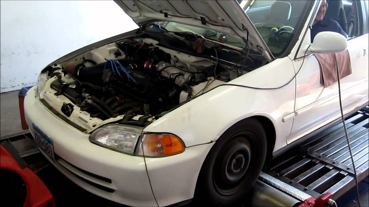 Built All Motor D16z6 Dyno Tune  - D-series org