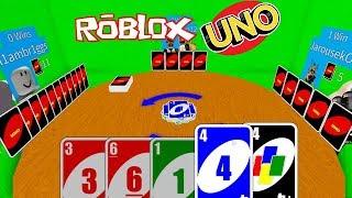 🃏UNO v ROBLOXU je SUPER!! 🎴/ ROBLOX / Roblox Uno / jurasek05 / CZ