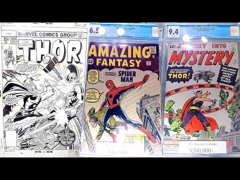 Epic $2,250,000 Comic Book & Comic Book Original Art Collection