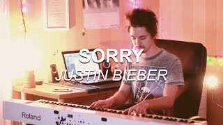"""Sorry (Justin Bieber)"", Piano Solo Cover by Joel Sandberg + Lyrics"