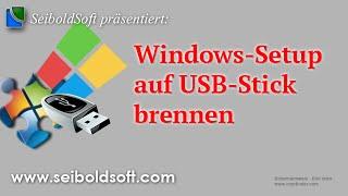 Windows 7/8/8.1 Installations-ISO auf USB-Stick