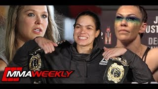 Amanda Nunes: What Was Similar Between Fighting Ronda Rousey & Cris Cyborg?