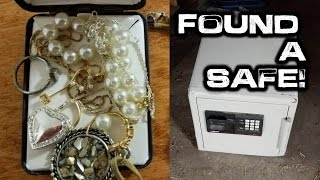 Flippin' Treasure: Found and Opened a Lost Safe!