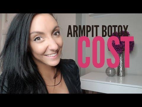 Armpit Botox Cost