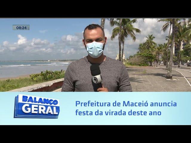 Reveillon X Pandemia: Prefeitura de Maceió anuncia festa da virada deste ano