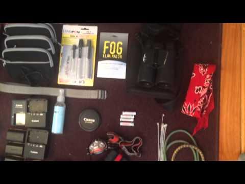 Photo gear for African Safari