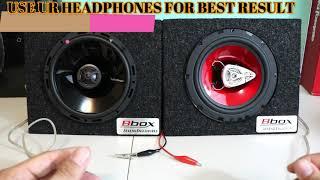Rockford Fosgate P1650 Punch 6 5 2-Way VS BOSS Audio CH6530