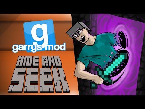 GMod Hide & Seek! - MINECRAFT SPECIAL PART 2! (Garrys Mod Funny Moments)