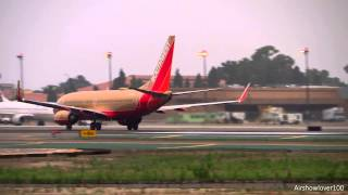 *Classic Livery* Southwest Airlines Boeing 737-700 Takeoff San Diego