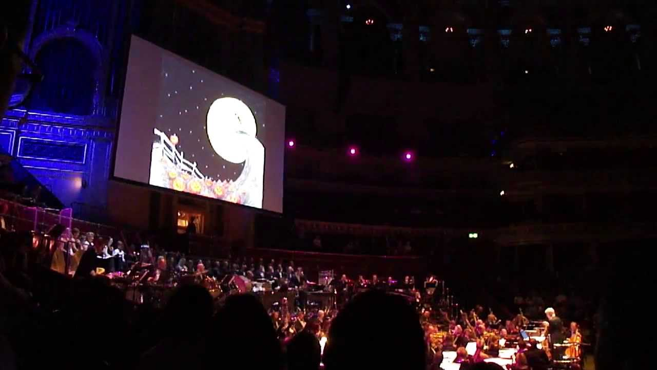 overture the nightmare before christmas danny elfman enters the stage royal albert hall - Danny Elfman Nightmare Before Christmas Overture
