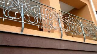 видео Заказать кованые решетки, декоративные , балконные, оконные, По низким ценам