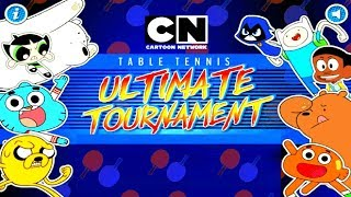 TABLE TENNIS ULTIMATE TOURNAMENT - EPIC GAMEPLAY (MINI CUP) - CARTOON NETWORK GAMES (HD)