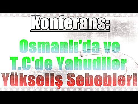 Osmanlı'da ve Cumhuriyet Türkiye'sinde Yahudiler ve Yükseliş Sebebleri, Üstad Kadir Mısıroğlu